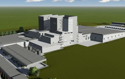 Nestlé (RTD) manufacturing facility Rendering